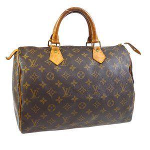 Auth Louis Vuitton Speedy 30 Hand Bag #N6355V84O